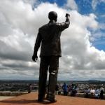 Standbeeld Mandela