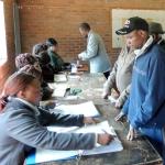 Zimbabwe stemlokaal