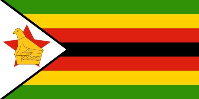 Zimbabwe vlag