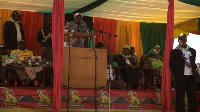 Mugabe toespraak