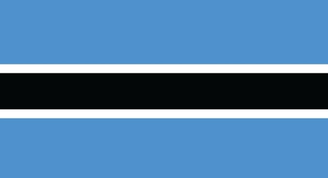 Flag Botswana